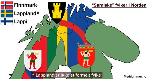 """""""Samiske fylker"""""""