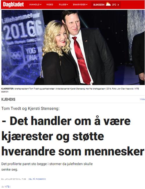 Idrettspresident Dagbladet