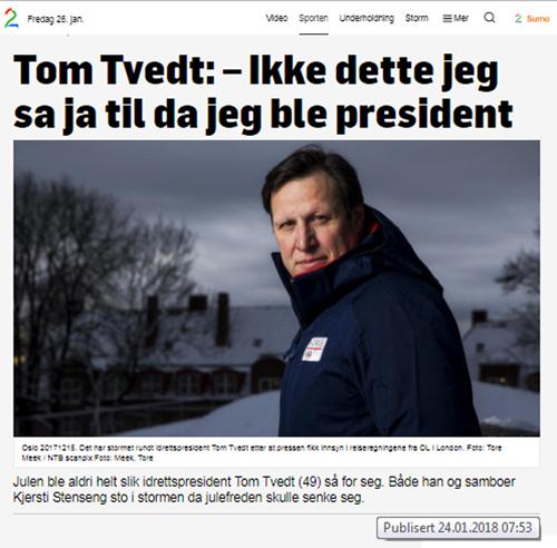 Idrettspresident TV2